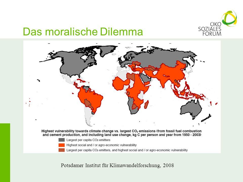 Das moralische Dilemma Potsdamer Institut für Klimawandelforschung, 2008