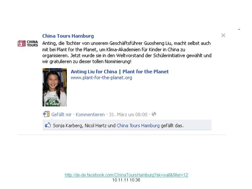 http://de-de.facebook.com/ChinaToursHamburg?sk=wall&filter=12 10.11.11 10:36