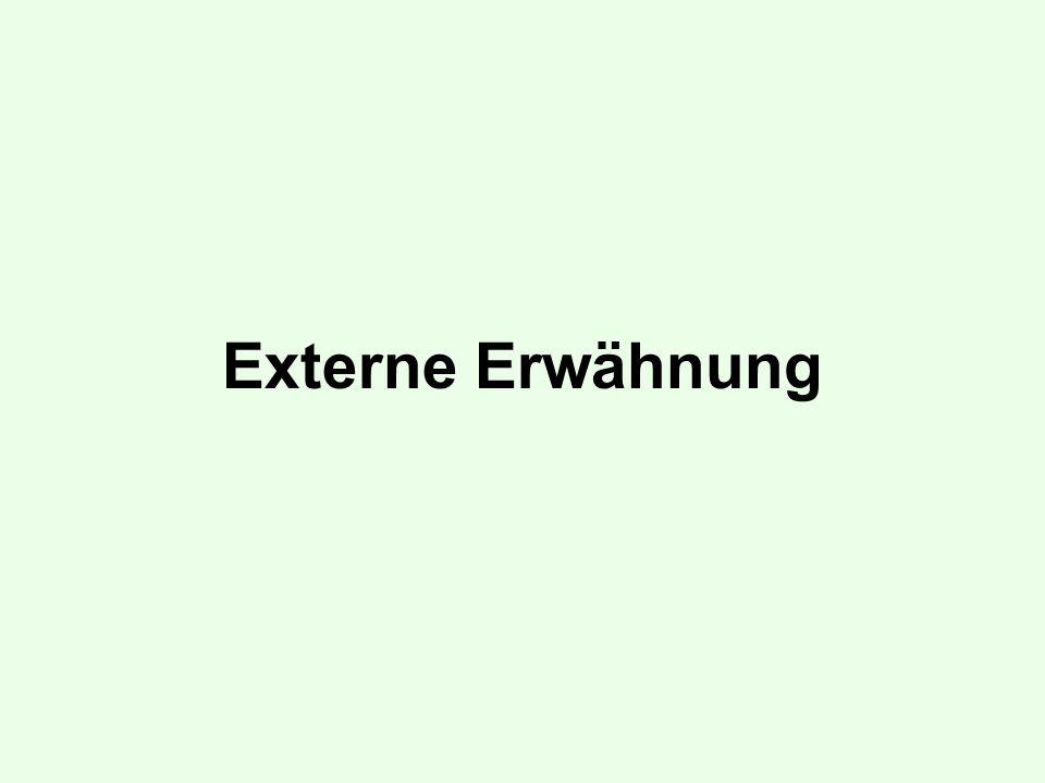 Externe Erwähnung