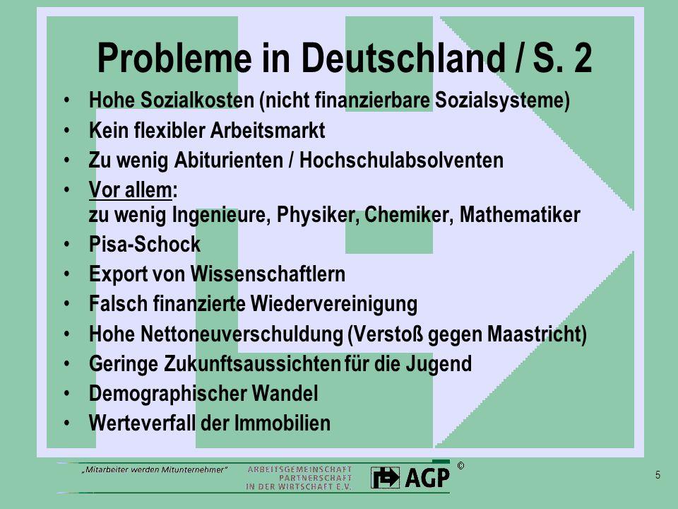 5 Probleme in Deutschland / S.