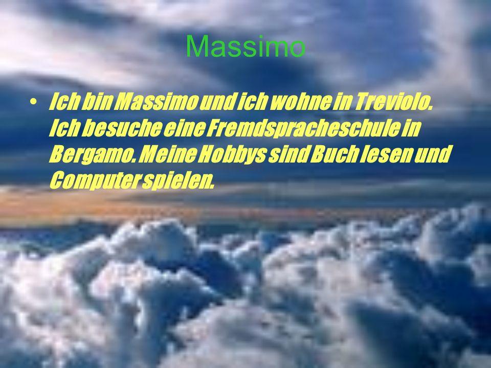 Massimo Ich bin Massimo und ich wohne in Treviolo.