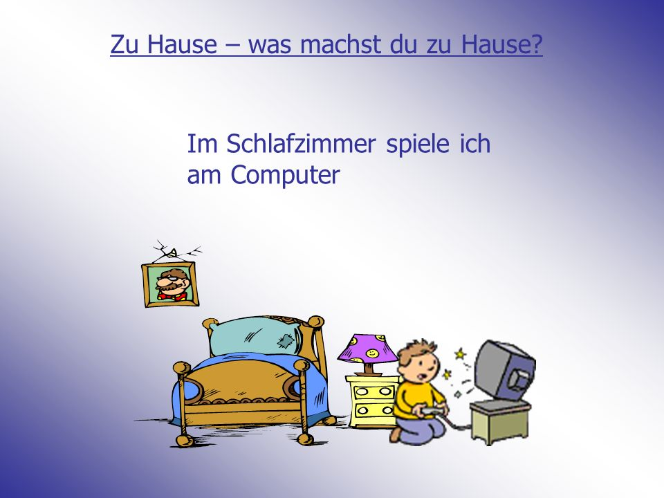So helfe ich zu Hause In todays lesson you will be learning phrases in German to say how you help at home The focus is separable verbs in English we have separable verbs: I wash up I dry up I tidy up