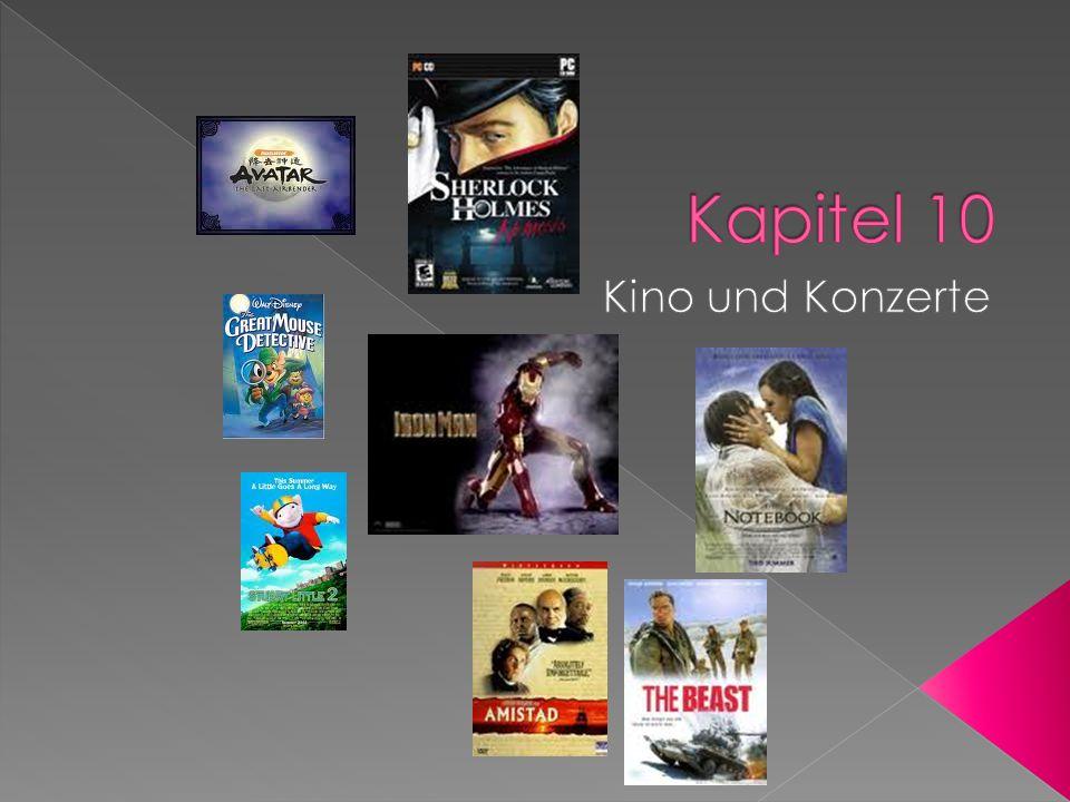 verbringenTo spend time mögenTo like, care for Was für Filme magst du gern?What kind of movies do you like.