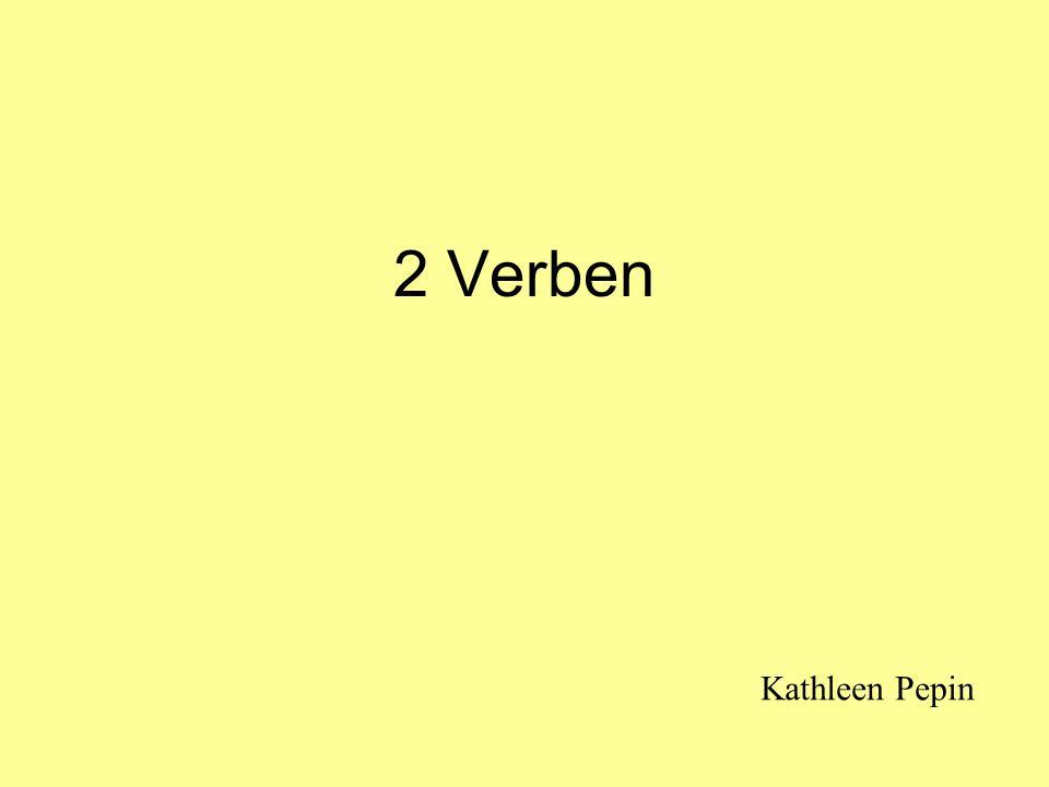 2 Verben Kathleen Pepin
