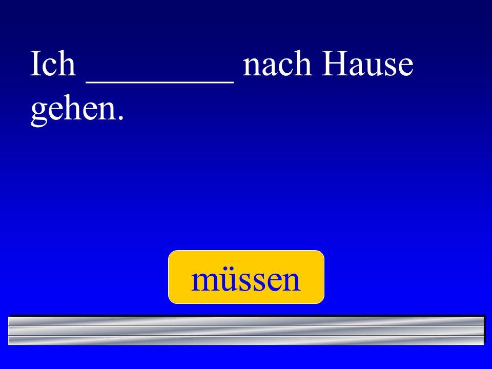 Du ________ gut deutsch sprechen. kannst
