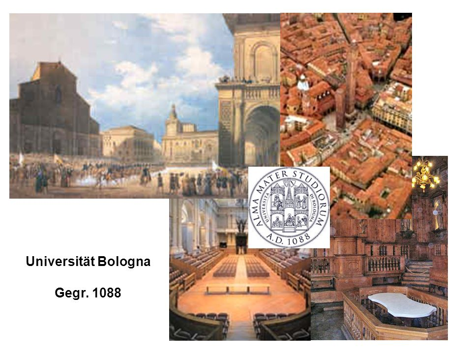 Universität Bologna Gegr. 1088