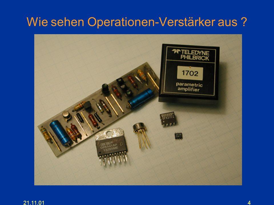 21.11.014 Wie sehen Operationen-Verstärker aus ?