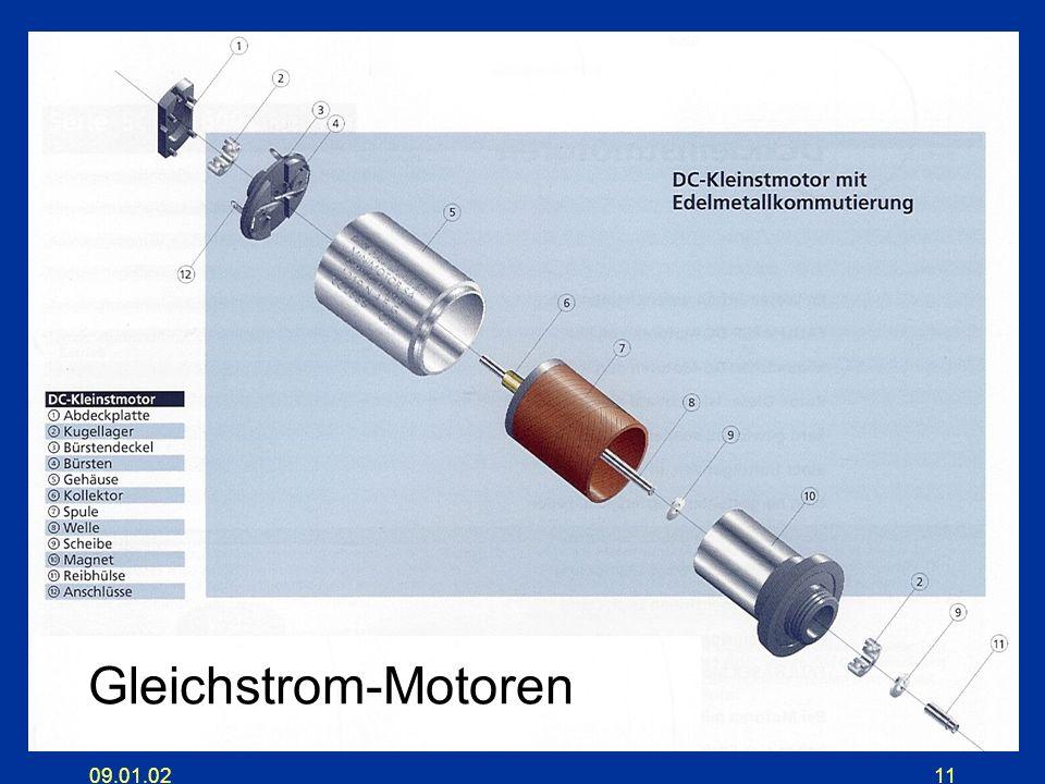 09.01.0211 Gleichstrom-Motoren