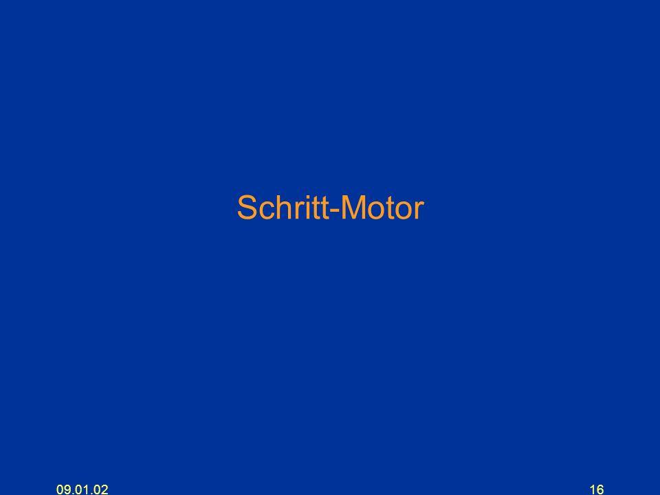 09.01.0216 Schritt-Motor