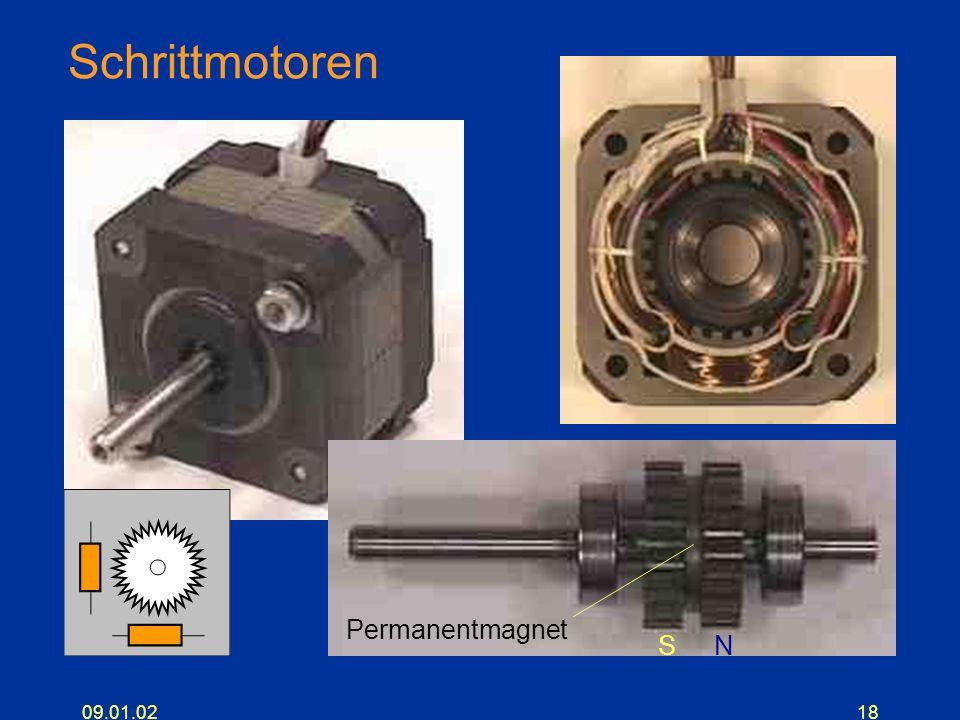09.01.0218 Schrittmotoren NS Permanentmagnet