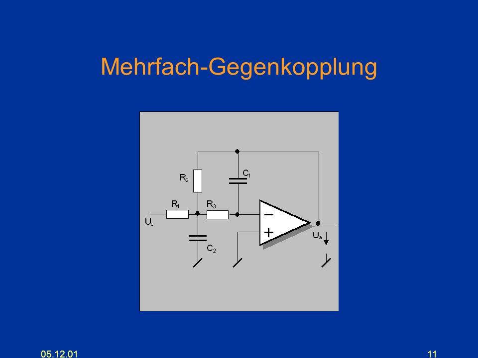 05.12.0111 Mehrfach-Gegenkopplung