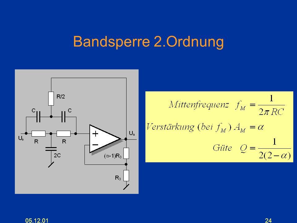 05.12.0124 Bandsperre 2.Ordnung