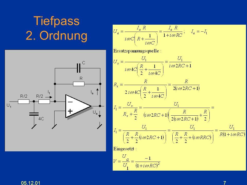 05.12.017 Tiefpass 2. Ordnung