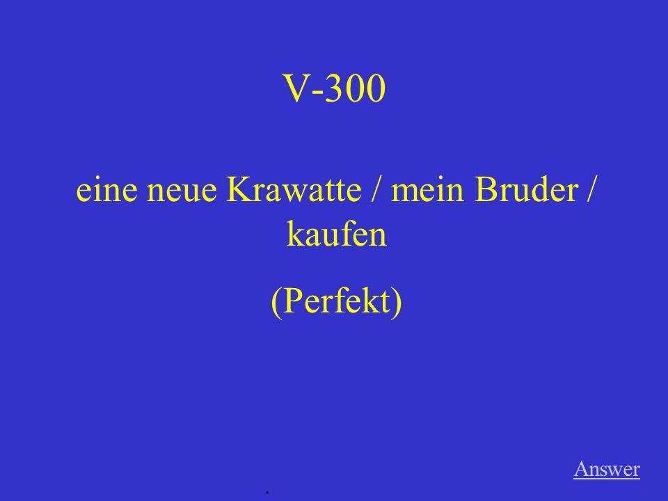 V-200 Answer. in der Disko / tanzen (Imperfekt)