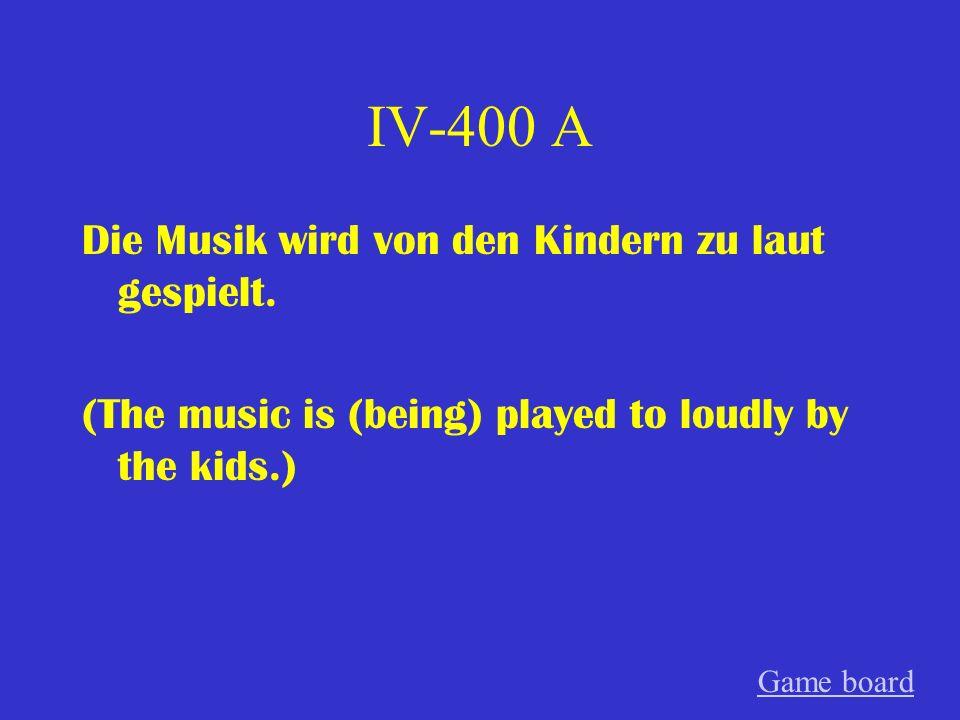 IV-300 A Der Film ist von dem bekannten Regisseur gefilmt worden.