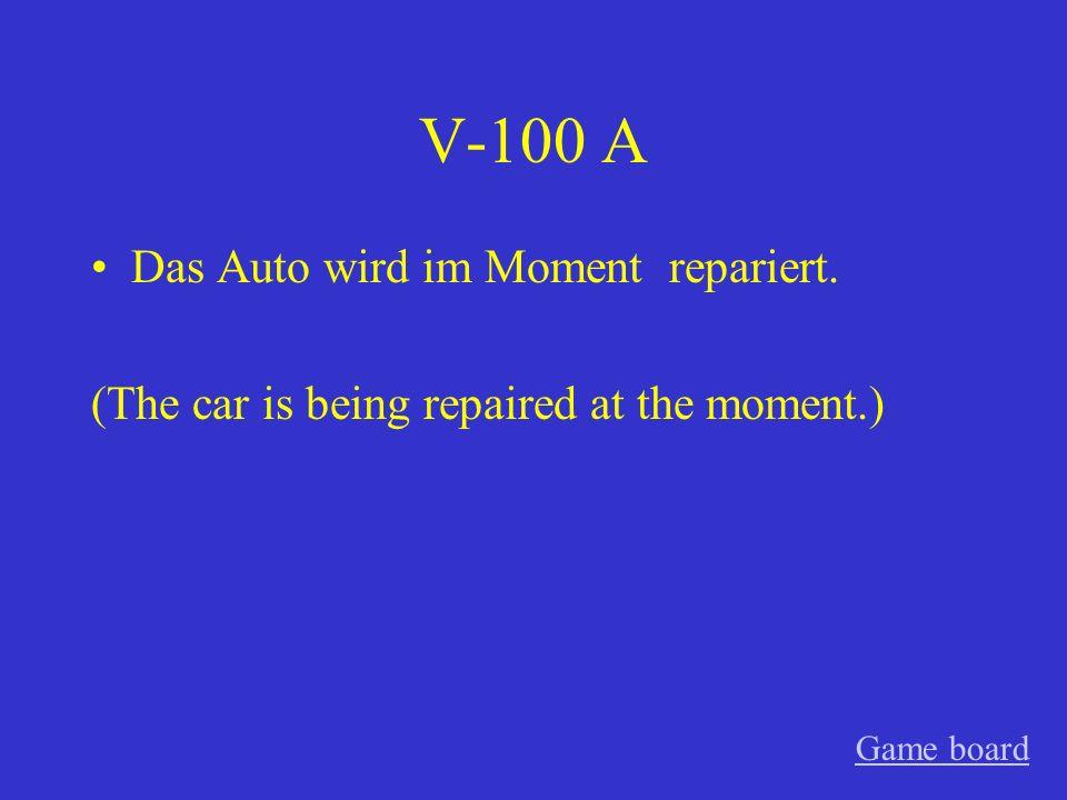 IV-500 A Die Zukunft ist von der Deutschklasse besprochen worden.