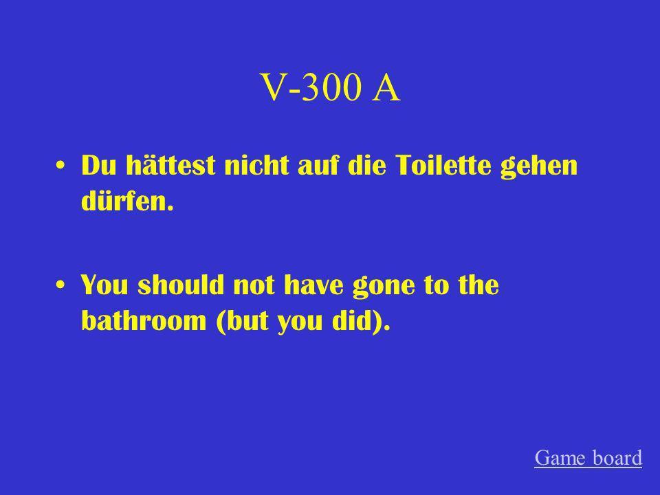 V-200 A Tobias und Katja hätten nicht immer so spät zur Schule kommen sollen.
