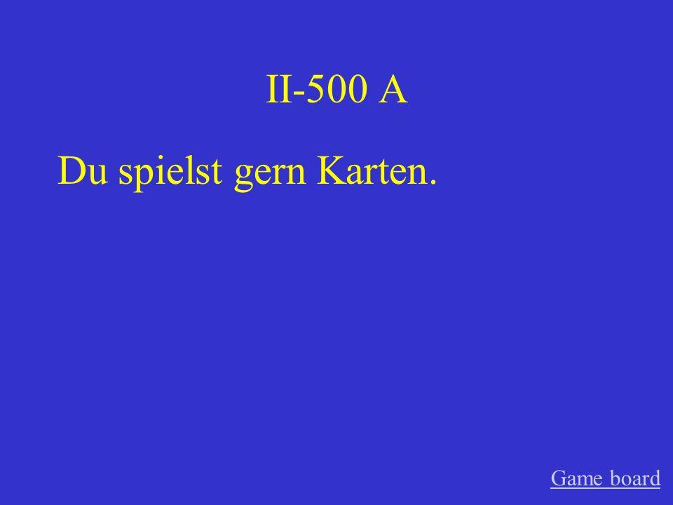 II-400 A Die Kinder lesen gern. Game board