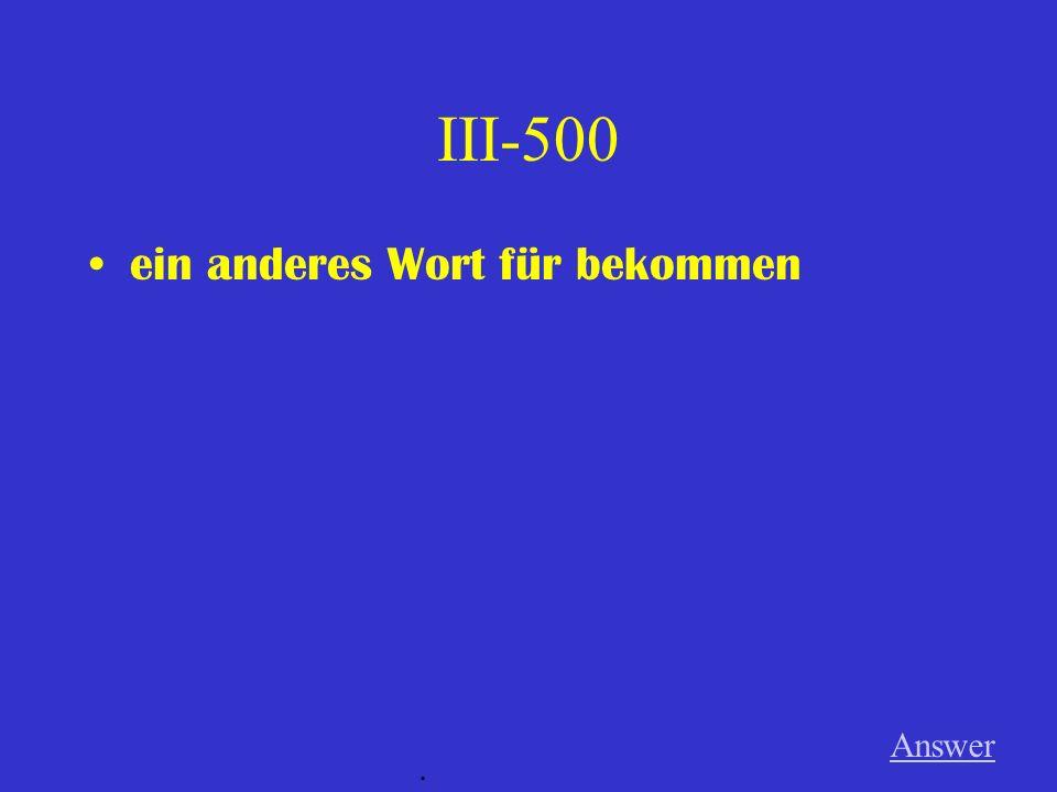 III-400 Die Jacke für einen Brief. Answer.