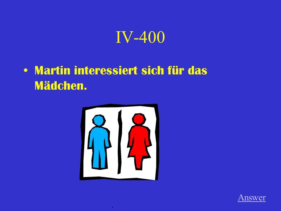 IV-300 Die Kinder sprechen oft mit der Lehrerin. Answer.