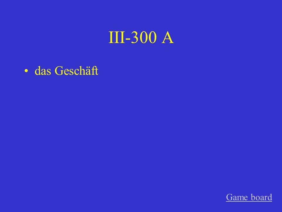 III-200 A der Absender (Felix!!!) Game board