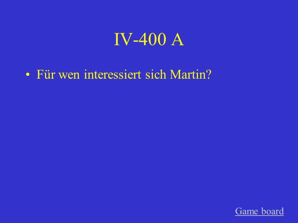 IV-300 A Mit wem sprechen die Kinder Game board