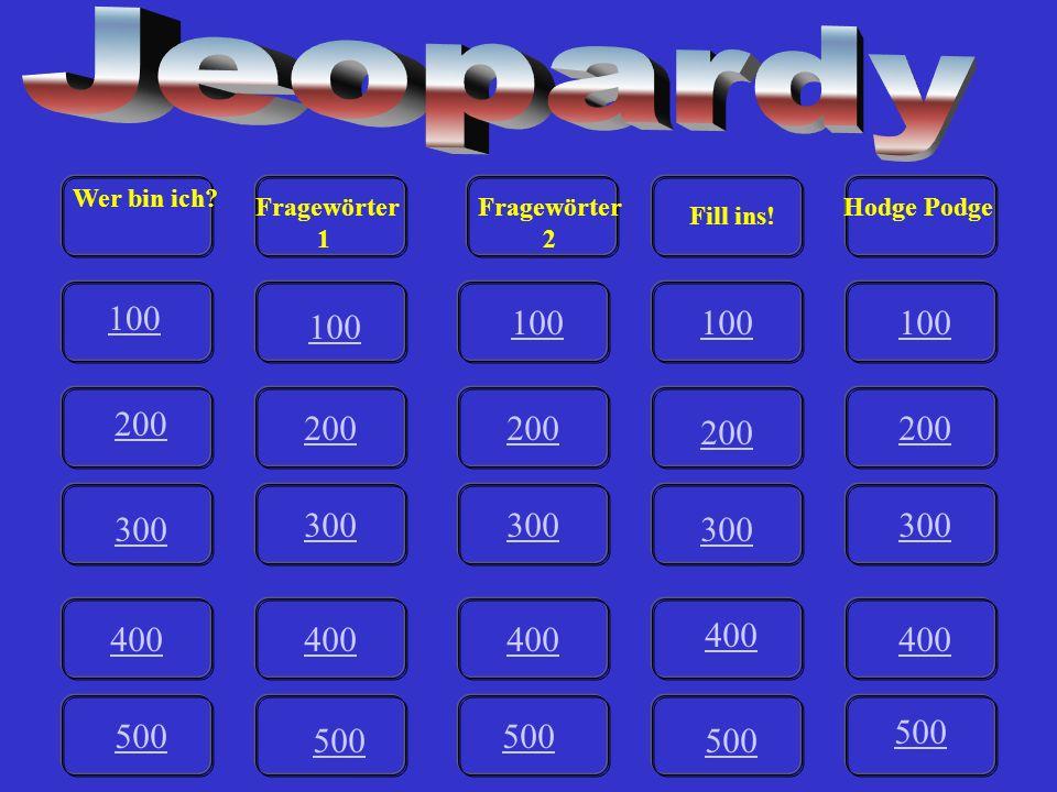 IV-500 Mit ____________ bist du zum Tanz gegangen? Answer.