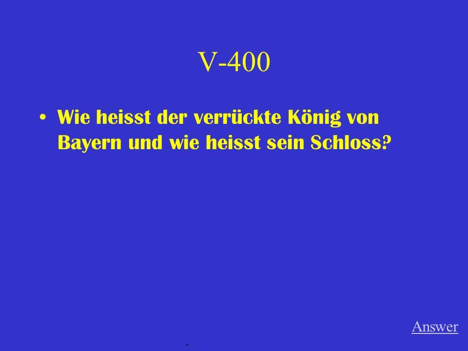 V-300 Was ist das deutsche Wort für whipped cream? Answer.