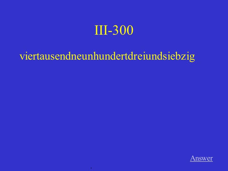 III-200 Answer. 832