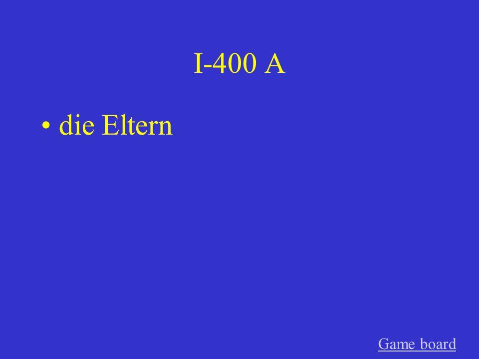 I-300 A der Enkel GameGame board