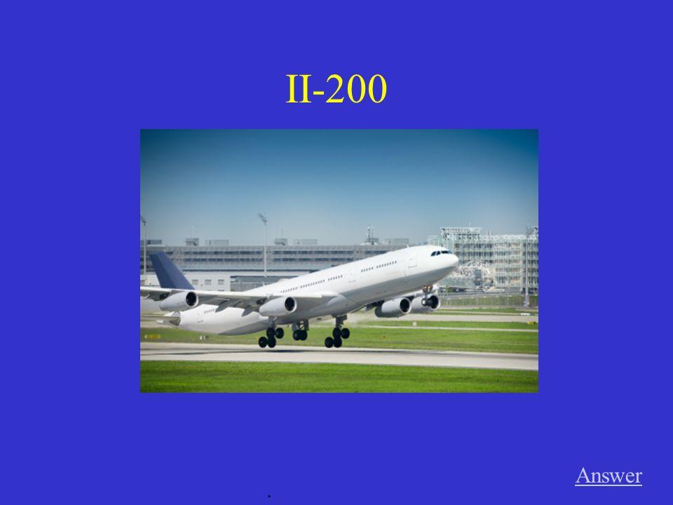 II-200 Answer.