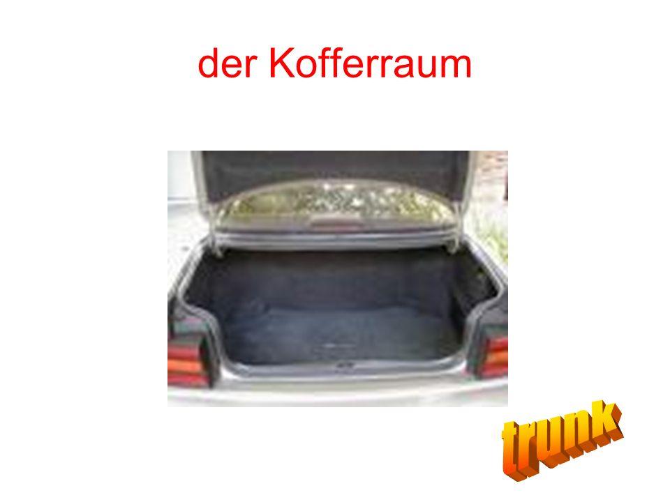 der Kofferraum