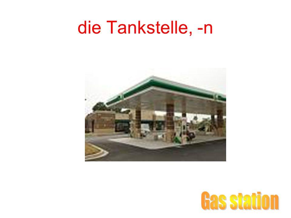 die Tankstelle, -n