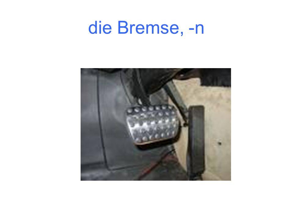 die Bremse, -n