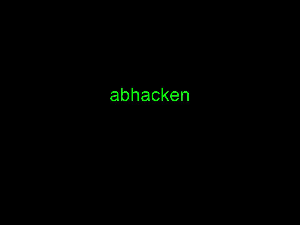 abhacken