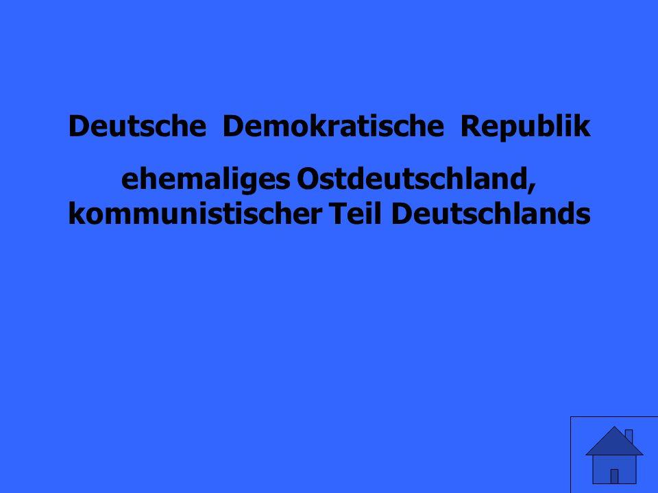 Was ist DDR?
