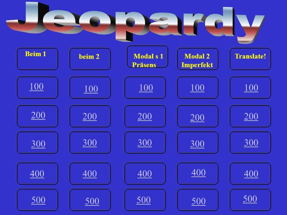 III-500 A Du darfst das neue Auto allein fahren. Game board