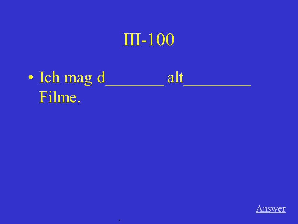 II-500 Er _____________________ hart für die Olympiade. (Imperfekt) Answer.