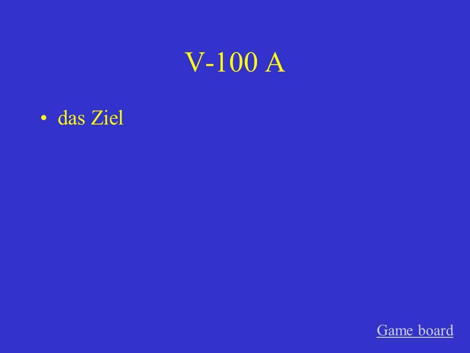 IV-500 A den kleinen, die leckeren Game board
