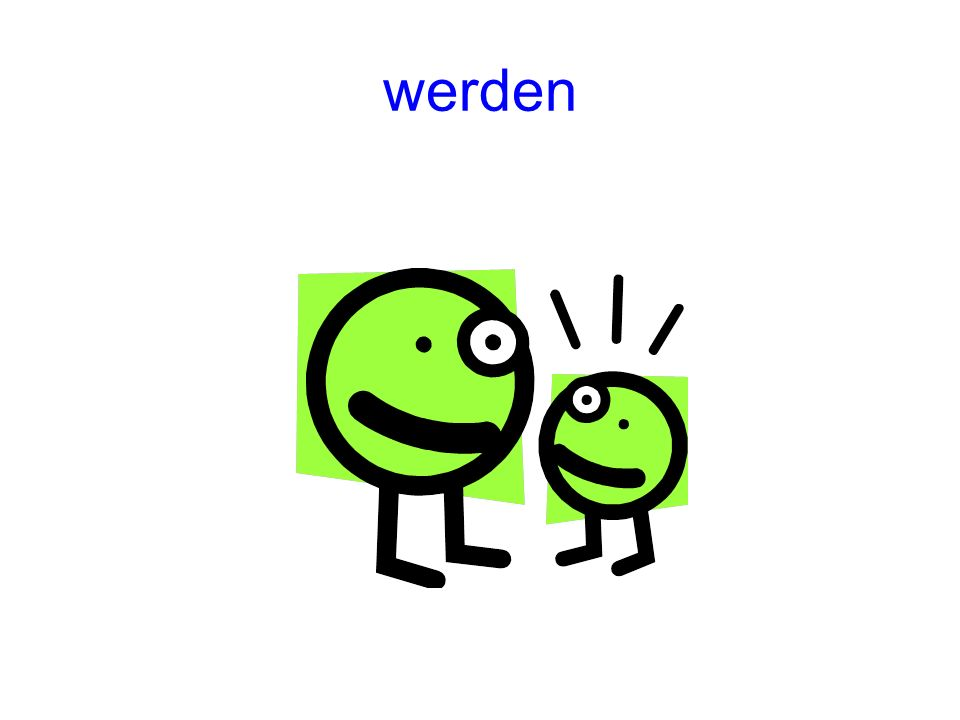 werden (to become (or used to make Passive and Futur tenses)) PräsensImperfekt wirdwurde Perfekt ist geworden