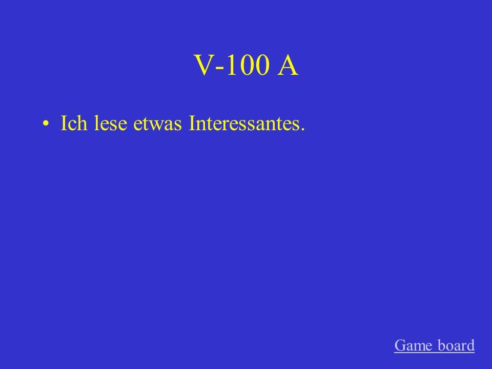 IV-500 A einem kleinen, ein grosses Game board