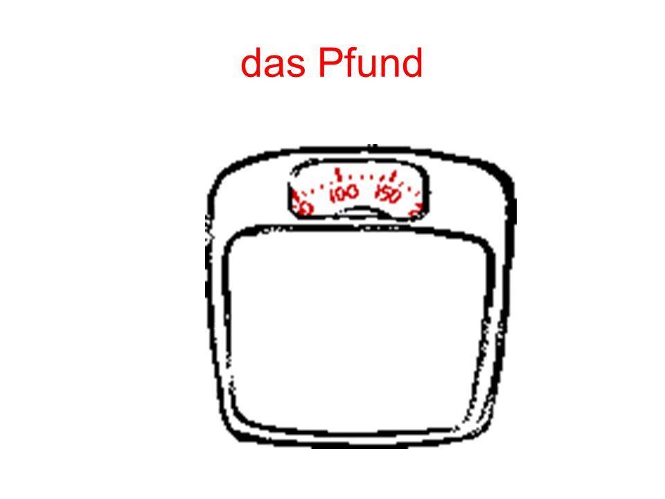 das Pfund