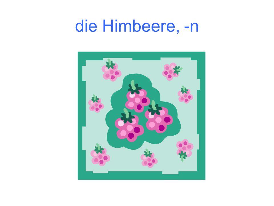 die Himbeere, -n