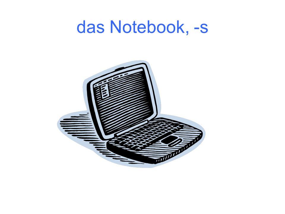 das Notebook, -s