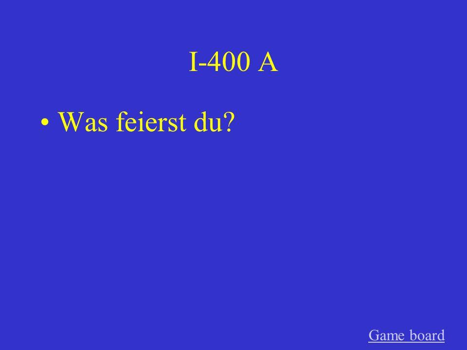 I-300 A Er bezahlte die Rechnung nicht! GameGame board