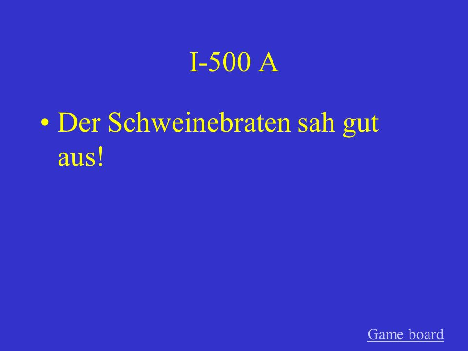 I-400 A Was feierst du Game board