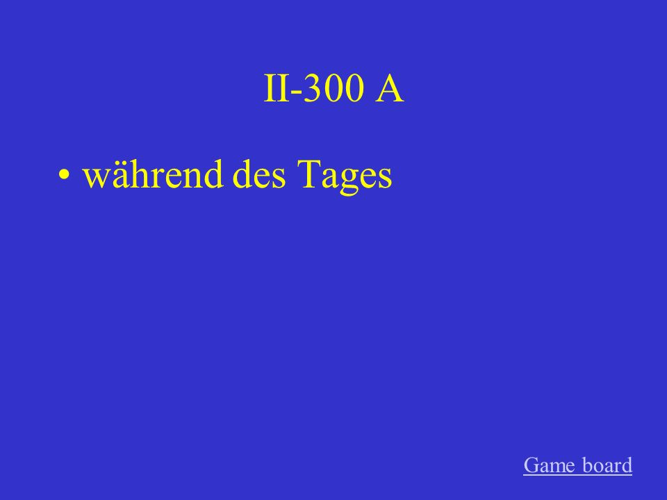 II-200 A trotz des Wetters Game board