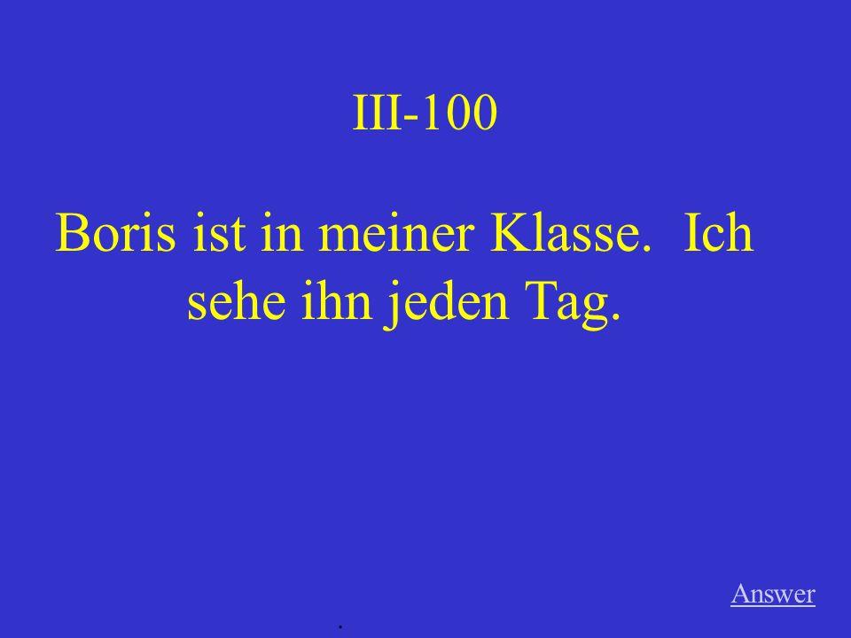 II-500 Katrin und Birgit sollen in die Stadt fahren. Answer.