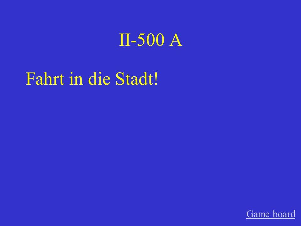 II-400 A Lies das neue Buch! Game board