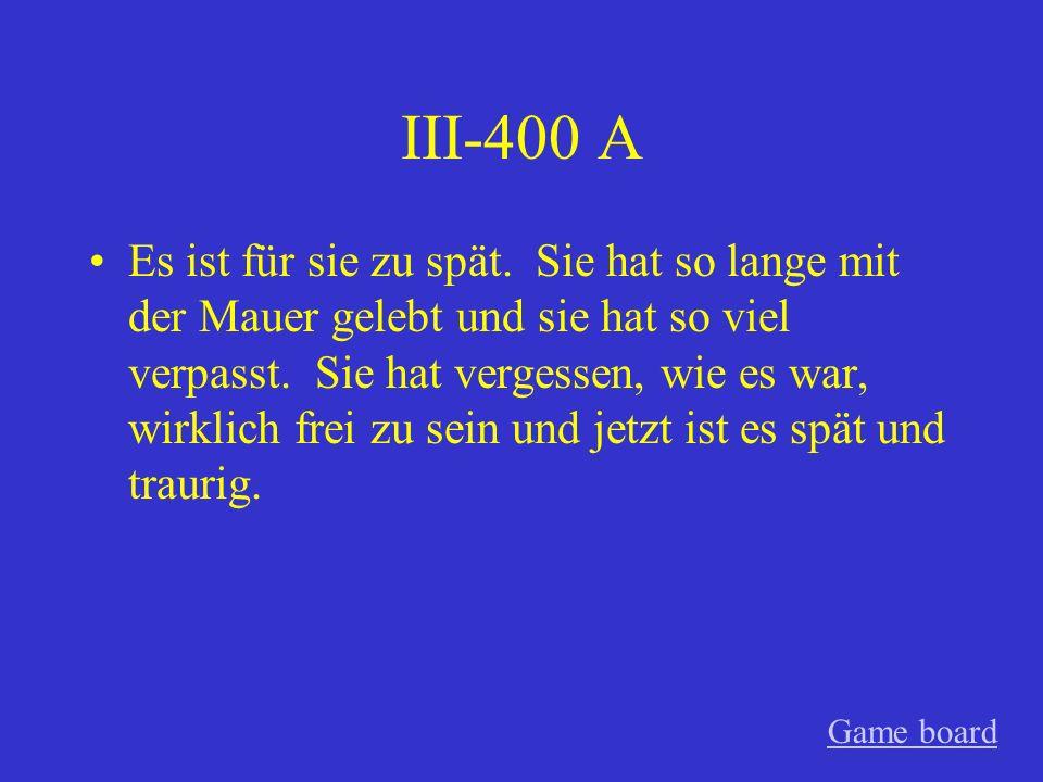 III-300 A Es endete positiv. Sophie plante mit Konrad zu bleiben.